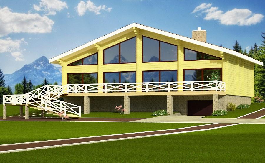 ferienhaus garmisch 279 m2 brettschichtholz chalet. Black Bedroom Furniture Sets. Home Design Ideas