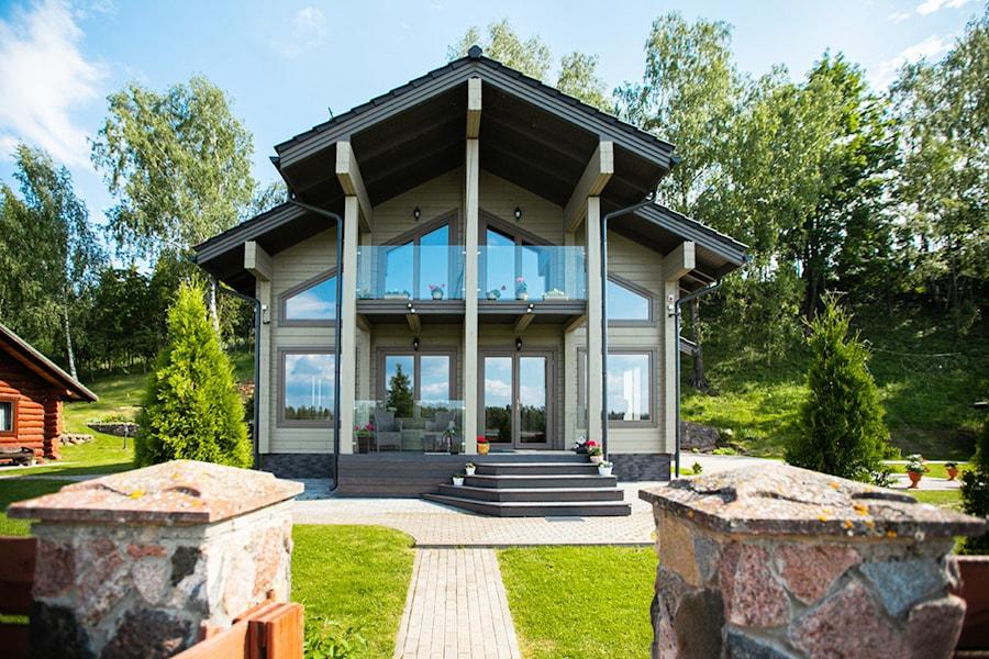 Holzhäuser Aus Rundholz Und Holzschlüsselfertige Furnierschichtholz